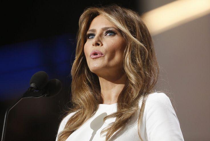 Съпругата на Тръмп ''открадна'' речта на Мишел Обама (видео) - http://novinite.eu/saprugata-na-tramp-otkradna-rechta-na-mishel-obama-video/