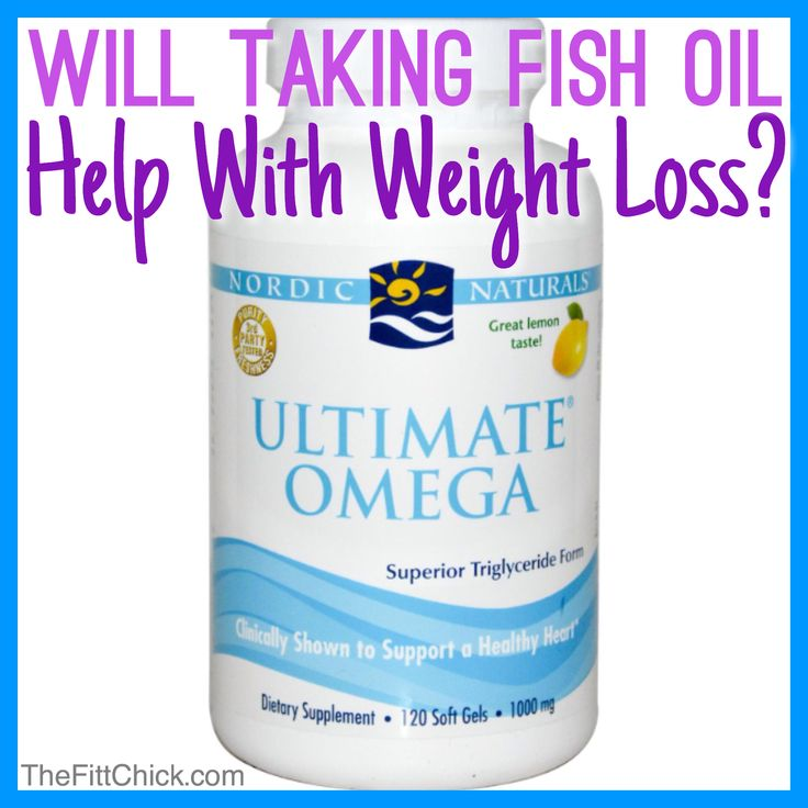 fish oil promote weight loss cooknews