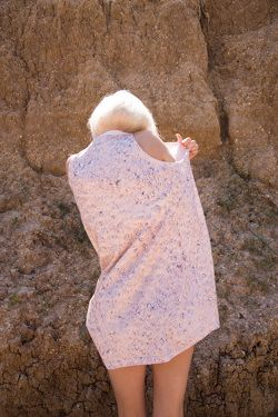 PER—TIM Tee Dress - Planet print