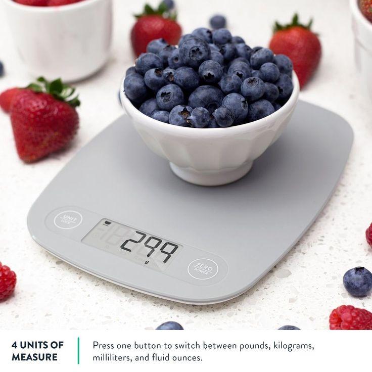 Digital Kitchen Food Diet Postal Scale Ultra Slim Large Display Weight Balance  #DigitalKitchen