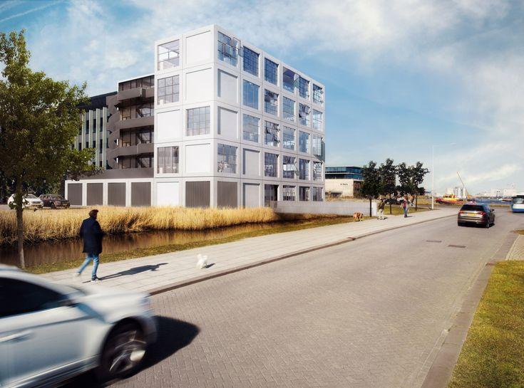 Gallery of MVRDV Breaks Ground on Creative Office Hub in Amsterdam - 2