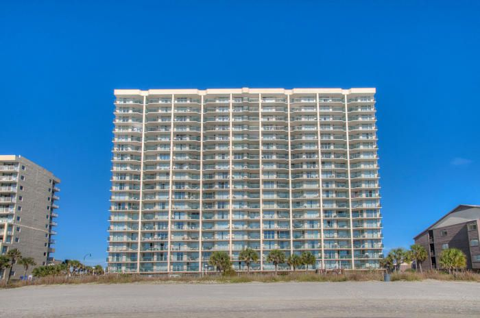 Ashworth is an Oceanfront Condo Complex in  North Myrtle Beach, SC.  Elliott Beach Rentals has been specializing in professional management of beach homes and condos since 1959.