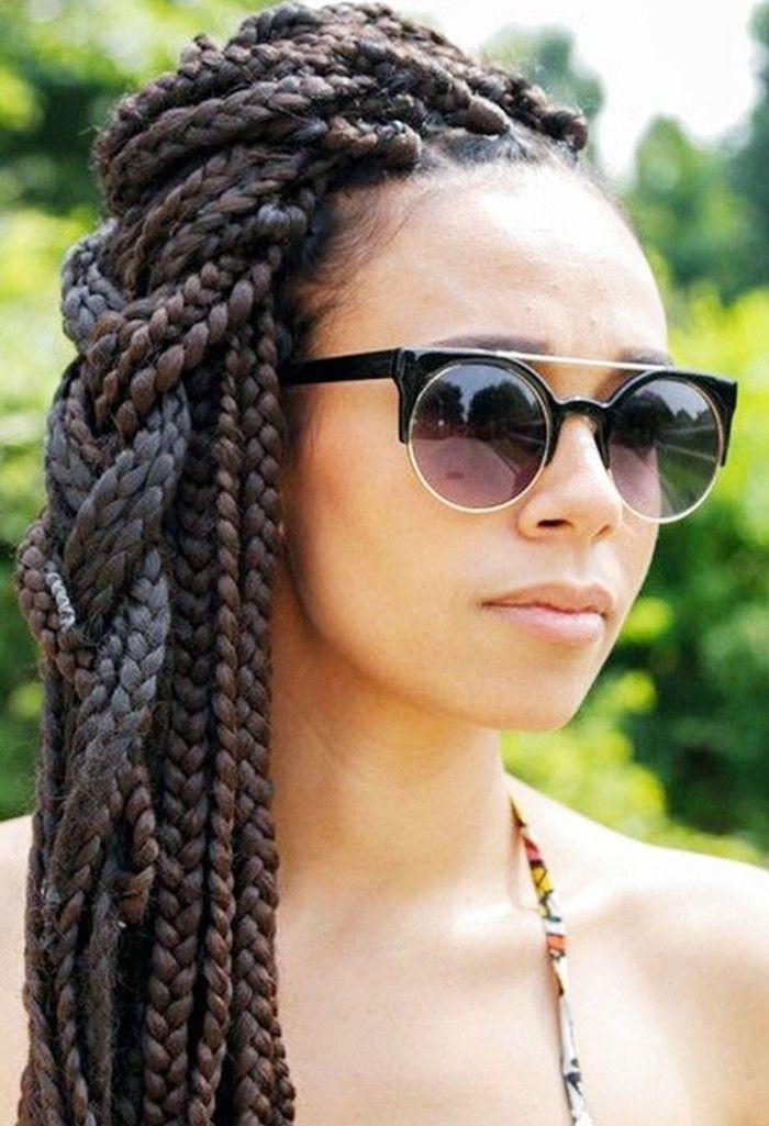 5 Box Braid Styles to Wear This Summer via @ByrdieBeauty