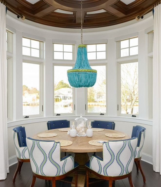 Blue Dining Room Decoration: 17 Best Ideas About Round Dining Tables On Pinterest