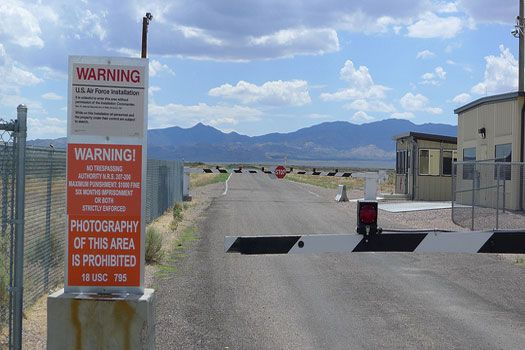 Area 51 – photos not allowed...but yet a picture