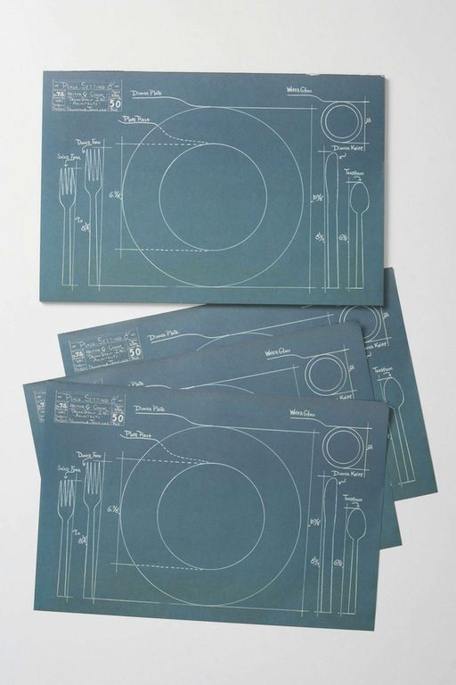 14 best table mats images on pinterest free printable free desired cake vintage rules of etiquette blueprint paper placemats malvernweather Image collections