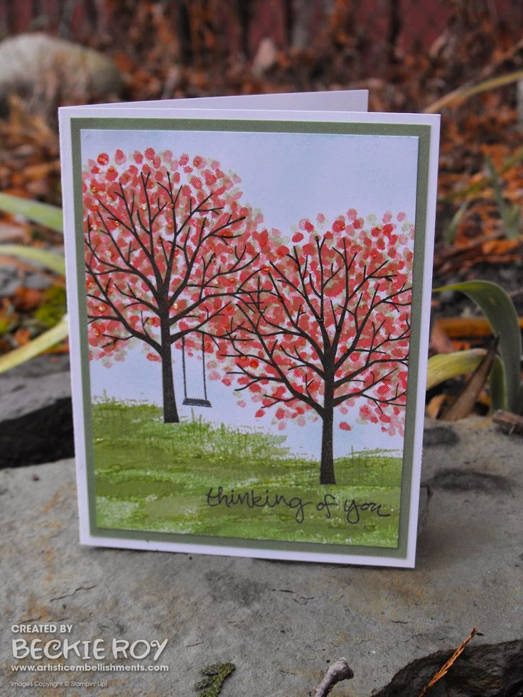 Artistic Embellishments: Sneak peek... Sheltering Tree is a stunner!