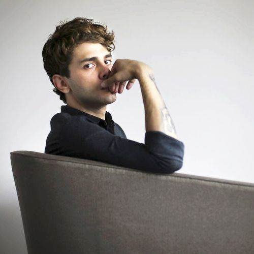Xavier Dolan by Richard Lautens Canadian director of Cannes prize-winner MOMMY,  and star of ELEPHANT SONG, both screening at TIFF.