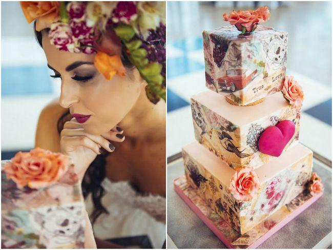 Rockabilly Wedding Cake Ideas
