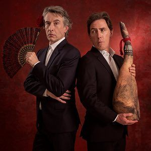 """""""Steve Coogan and Rob Brydon on The Trip to Spain,"""" The Guardian (19 March 2017). Yes, they bicker. Yes, they do impressions. And, as well as celebrating food, this new series of improvised comedy also explores – brilliantly – masculinity and middle age"""