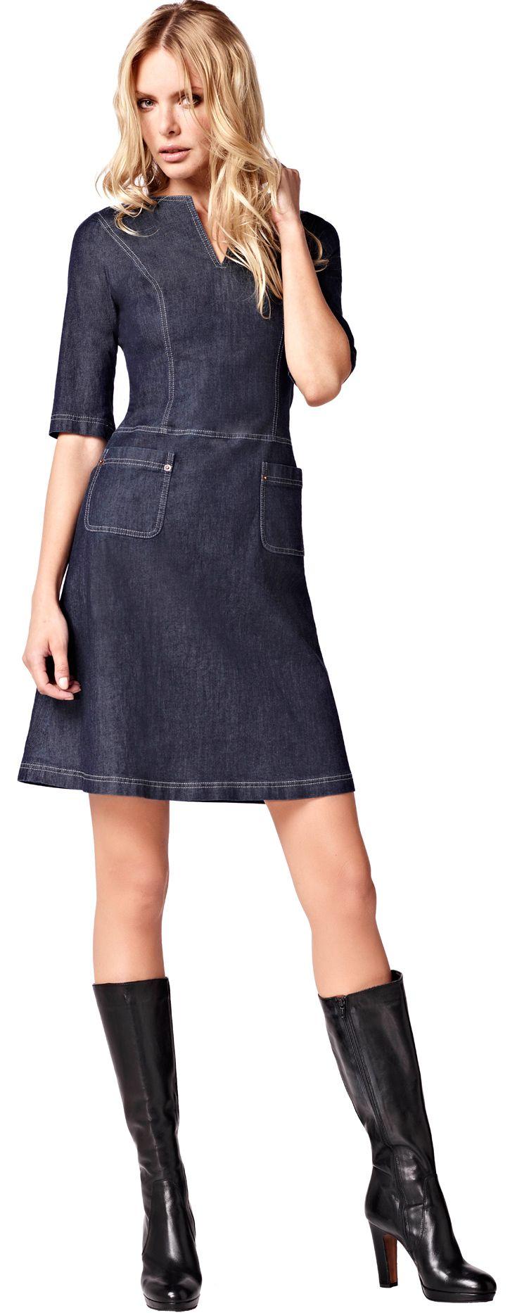 La Dress : Linda - denim