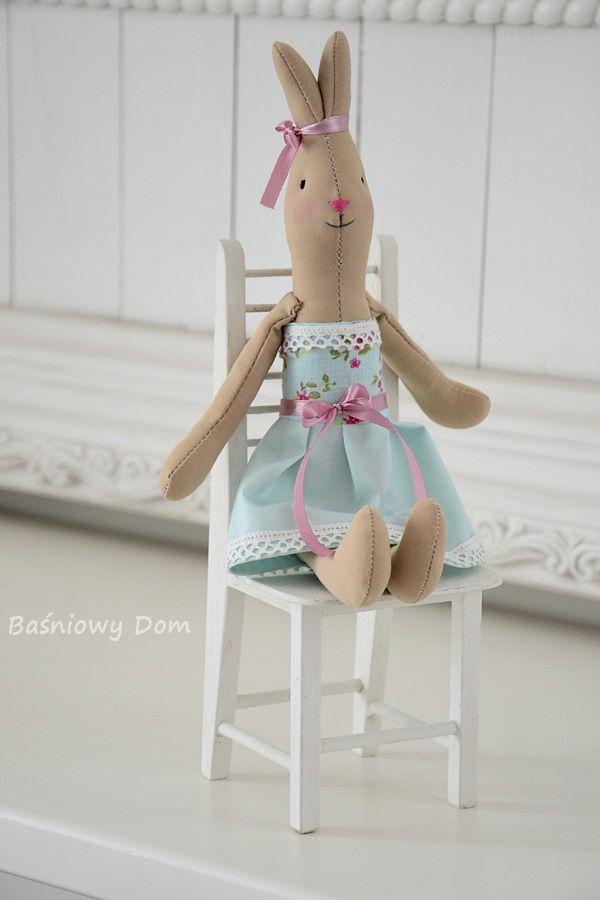 Króliczek w rozm. S, Seledynowa wróżka. - Baśniowy dom - dekoracje, zabawki i…