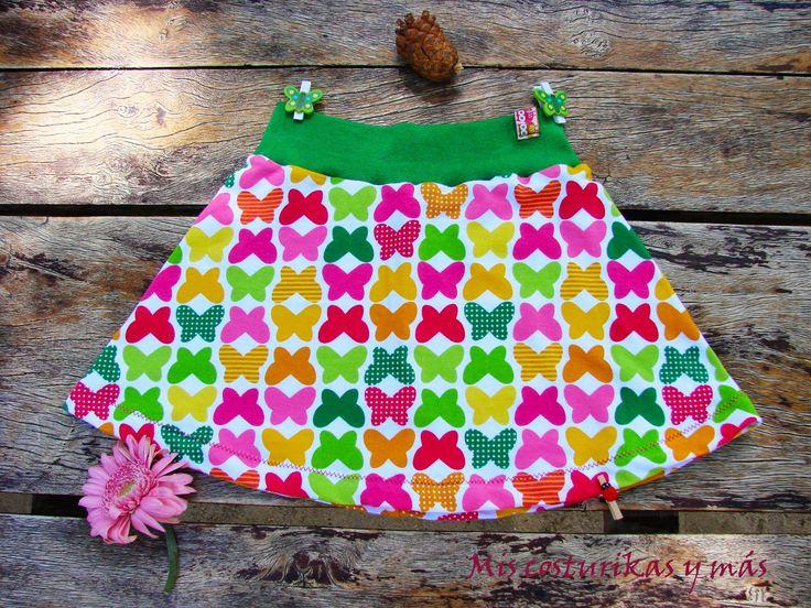 Mis costurikas y más: Tutorial de cómo hacer los patrones de un conjunto de camiseta y falda para niña