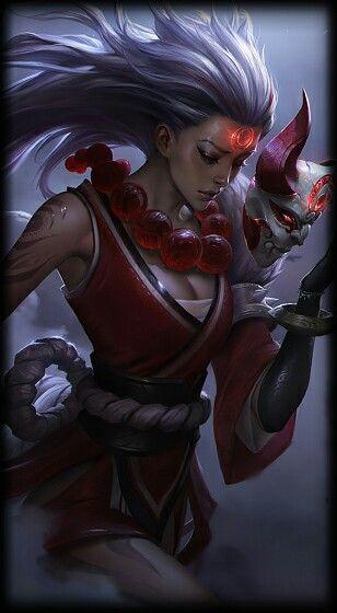 League of Legends- Blood Moon Diana