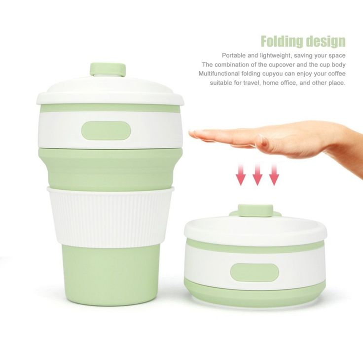 350ml Silicone Outdoor Travel Retractable Folding Telescopic Collapsible Folding Water Bottle Coffee Tea Mug Cup saving space #Affiliate