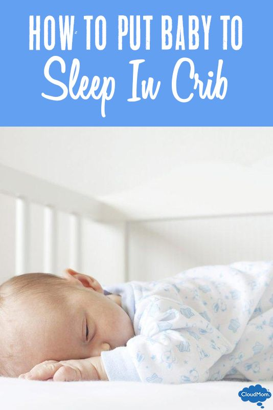 SIDS is a serious issue. Here are some tips on how to properly put a baby to sleep in a crib and helpful info on baby sleep positions from a mom of 5!
