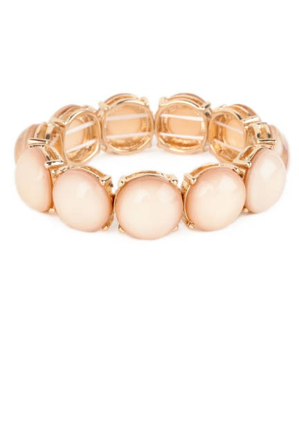 BaubleBar cabochon bangle