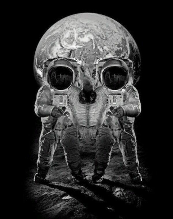 Űrhajós koponya