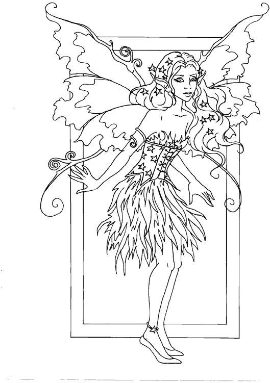814 best Fantasy Coloring Fairy
