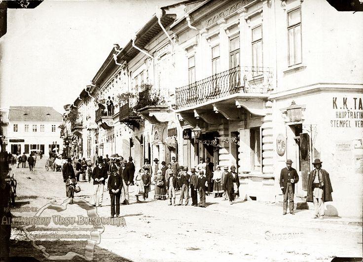 Orașul Suceava. Hanul Langer.