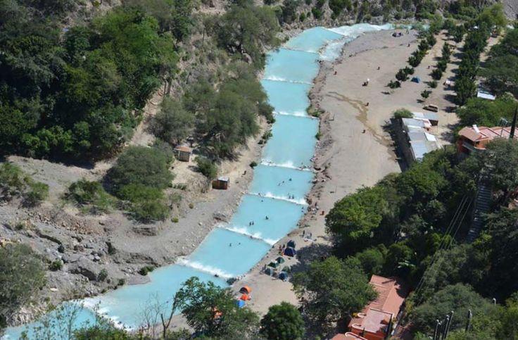 Grottos and cliffside springs and waterfalls, oh my! Grutas de Tolantongo, Hidalgo Mexico