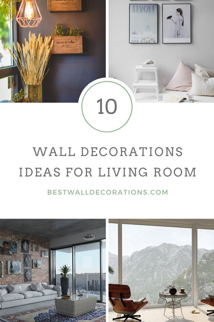 10 Wall Decorations Ideas For Living, Decorations For Living Room