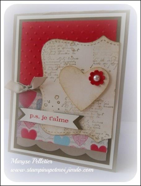 carte de st valentin valentine cards pinterest signs. Black Bedroom Furniture Sets. Home Design Ideas