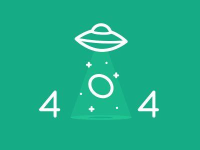 404 dribbble