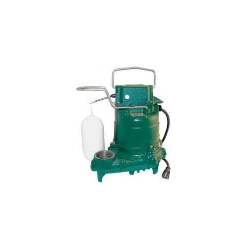 Zoeller 57-0001 Mighty Mate 1/3 HP Automatic Submersible Sump Pump with Bronze Impeller