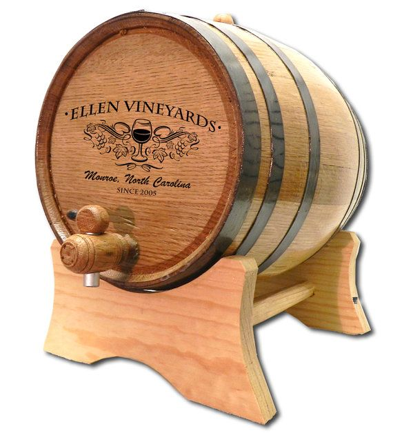 Personalized Custom Mini Oak Wine Barrels, perfect for the home bar, makes a great gift. FREE SHIPPING WITHIN THE CONTINENTAL USA! Worldwide
