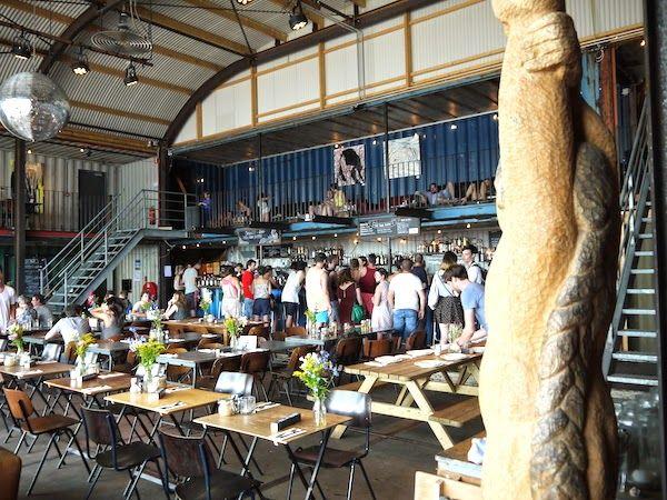 Pllek creative hangout   Noord NDSM area
