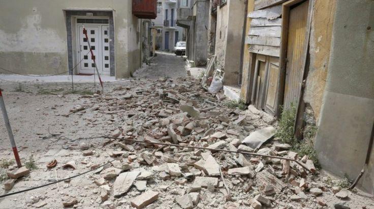 Μυτιλήνη – Σεισμός: Νεκρή η εγκλωβισμένη στα ερείπια κάτοικος του χωριού Βρισά
