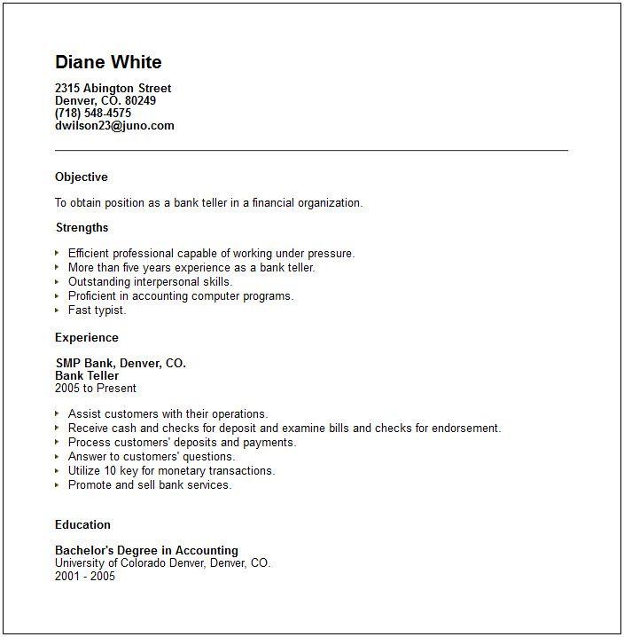 63 best Career-Resume-Banking images on Pinterest Career, Resume - endorsement letter for employment
