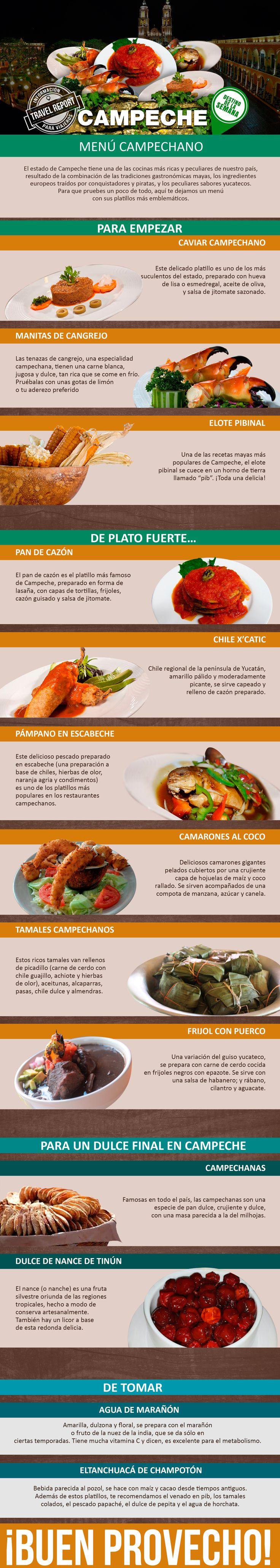 Campeche: Qué no puedes dejar de comer si vas