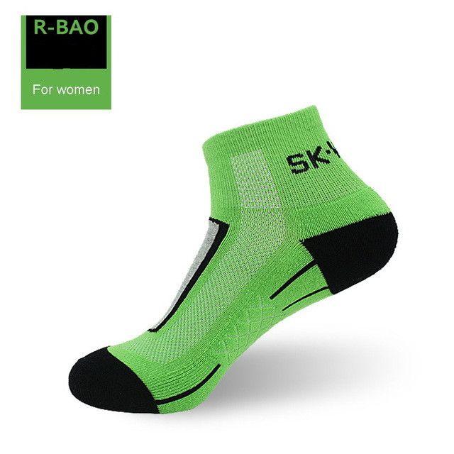 R-BAO 2 Pairs/lot Women calcetines ciclismo Men Cycling Socks Road Bike mtb Thin calze ciclismo estivo 2016 fiets sokken