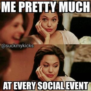 Introvert - trying to fake it through every social gathering