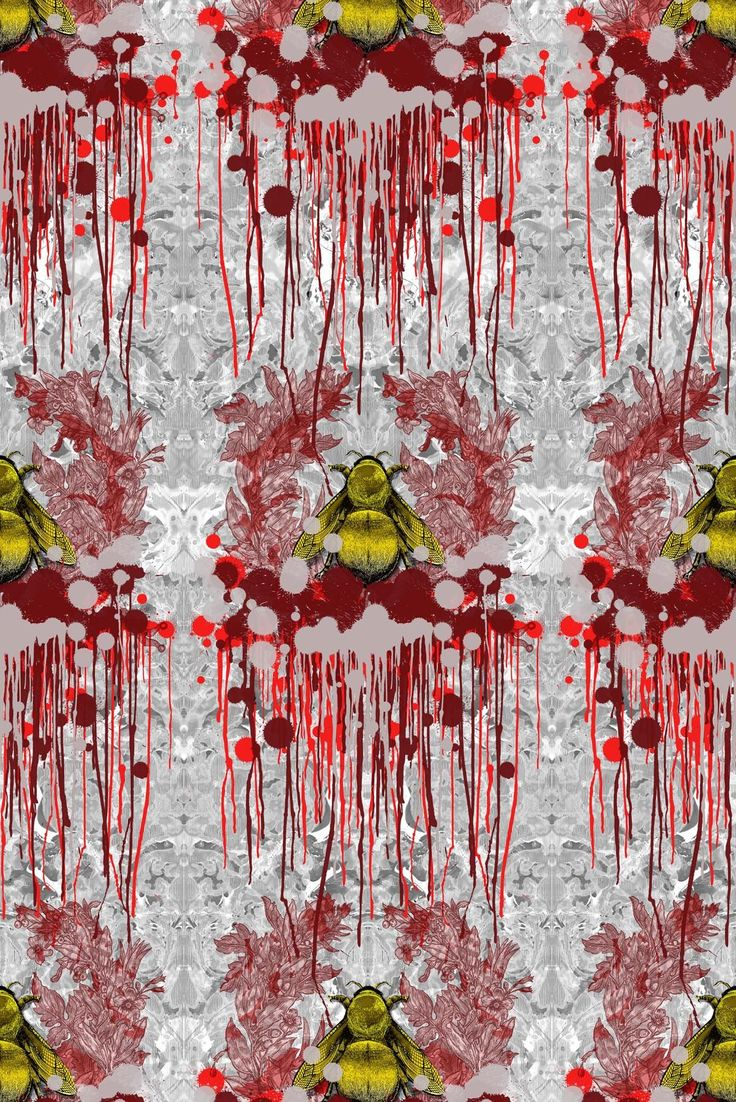 Timorous Beasties Wallcoverings - Bloody Empire