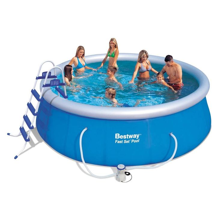 Alberca Inflable 15 x 48 Fast Set Bestway