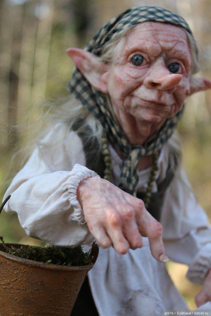 Кикимора. Авторская кукла Катрушовой Татьяны / Авторские куклы своими руками, ручной работы / Бэйбики. Куклы фото. Одежда для кукол