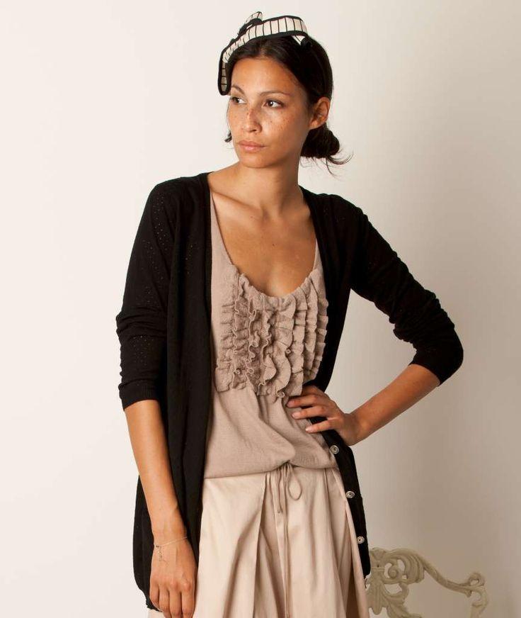 so easy so chic... it's momoé knitwear #momoé #knitwear