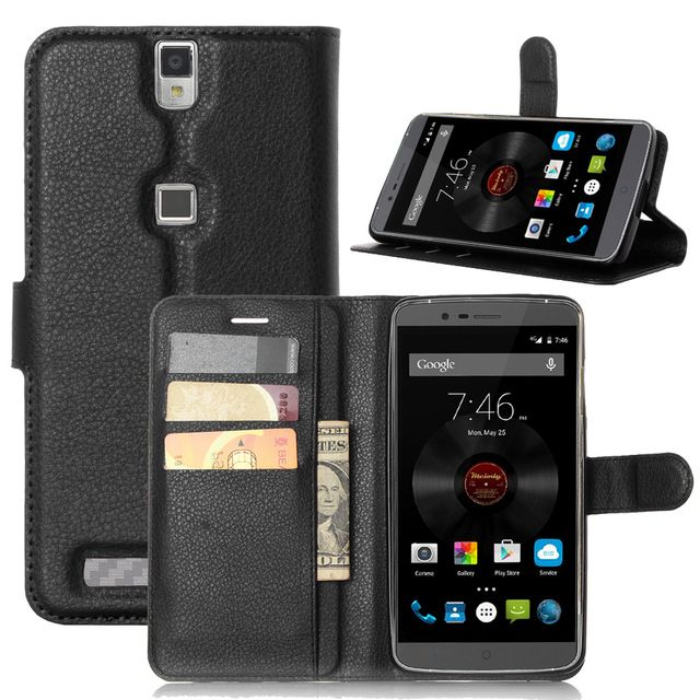 Hot Selling Elephone P8000 Case Wallet Style PU Leather Case for Elephone P 8000 with Stand Function and Card Holder - US $3.45