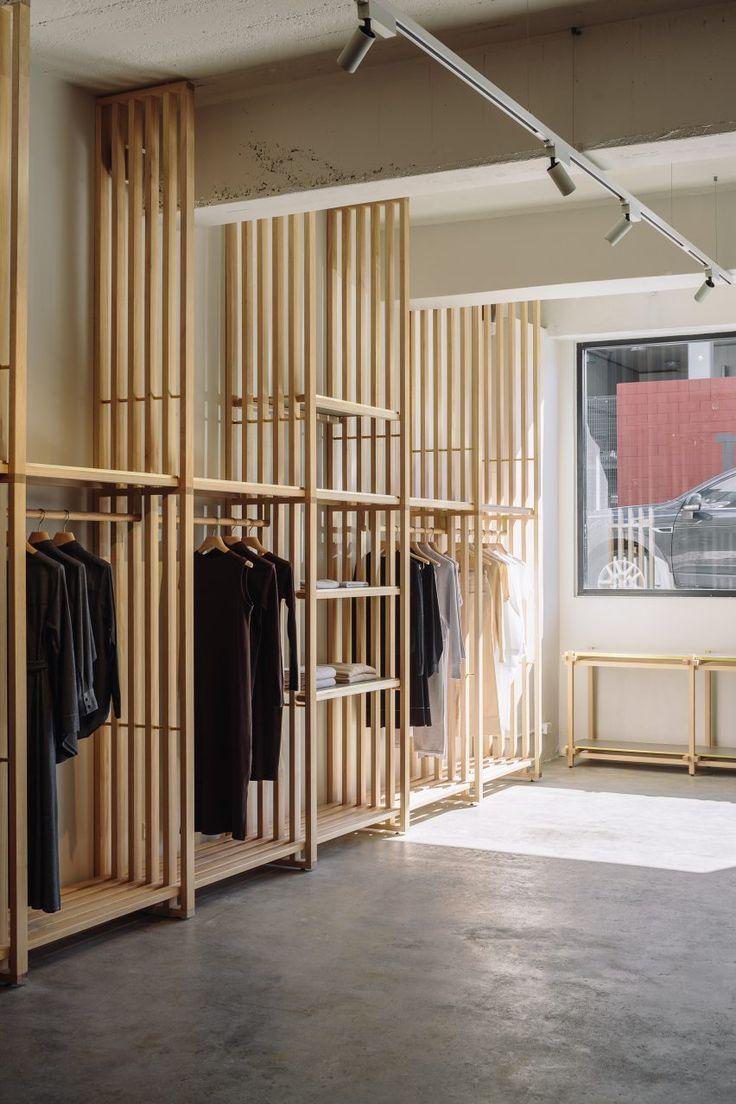 Knight Associates schaut nach Japan für das Design eines umweltfreundlichen Modegeschäftes in Neuseeland