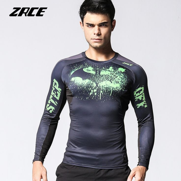 mens tattoos ZRCE Basketball Rugby Jersey Training Gym Clothing Men Sport T shirts Skinny Quick Dry Male Fitness Clothing Compression Shirt -*- AliExpress Affiliate's buyable pin. Item can be found on www.aliexpress.com by clicking the VISIT button #MensTshirts