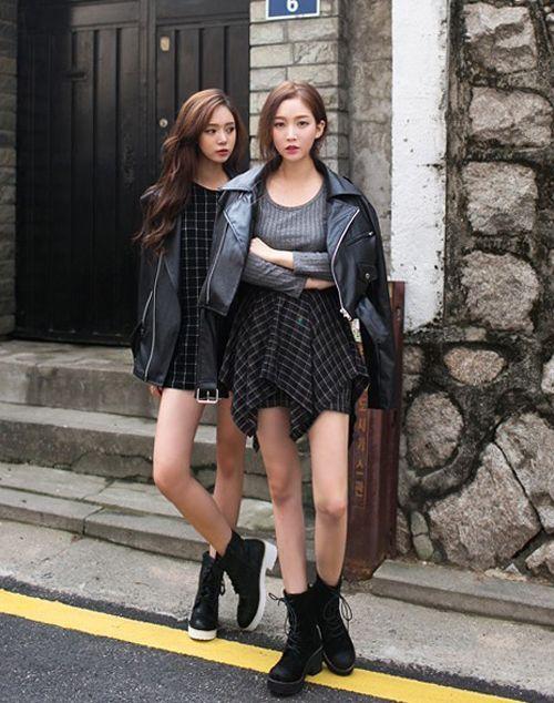 ผลการค้นหารูปภาพสำหรับ Edgy and Feminine Can Co-Exist in korea