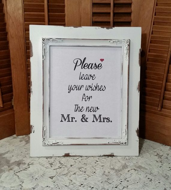 9 best Wedding card box and signs images – Picture Frame Wedding Card Box