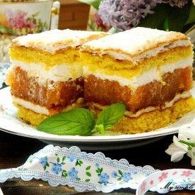 Ciasto rabarbarowo-bezowe
