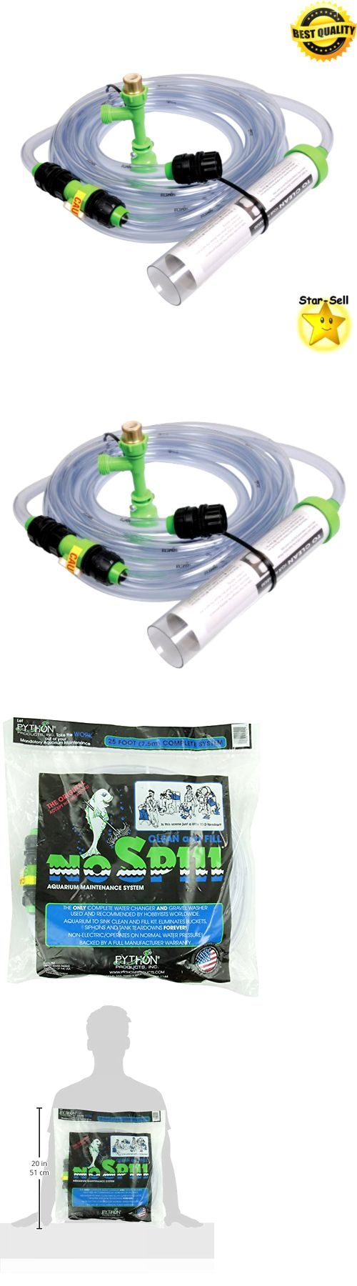Aquarium fish tank complete system - Cleaning And Maintenance 148983 Aquarium Maintenance System Cleaner Fish Tank Cleaning Supplies 25 Foot Cord