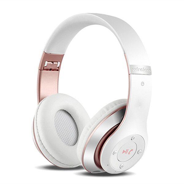 Bakeey™ P15 Fone de Ouvido Headphone Headset Bluetooth 4.0 sem Fio Esportes Dobrável AUX Rádio FM Cartão TF com Microfone
