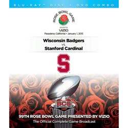Stanford Cardinal 2013 Rose Bowl presented by Vizio Champions Game DVD/Blu-ray Combo - Stanford Cardinal vs. Wisconsin Badgers  http://www.fansedge.com/Stanford-Cardinal-2013-Rose-Bowl-presented-by-Vizio-Champions-Game-DVDBlu-ray-Combo---Stanford-Cardinal-vs-Wisconsin-Badgers-_-1752051433_PD.html?social=pinterest_pfid12-07527