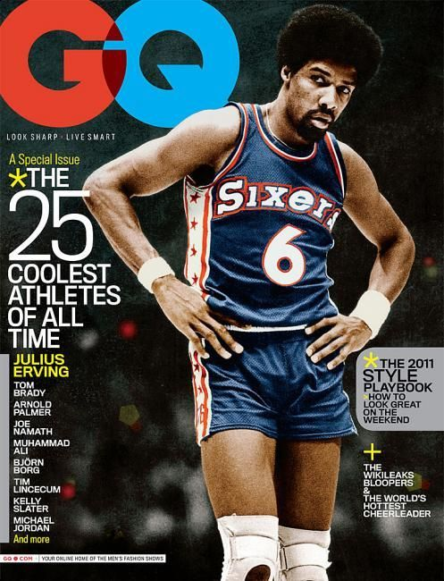 The Coolest Athletes of All Time: The Covers